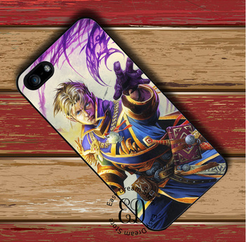 Anduin wrynn чехол для iPhone X 4S 5 5S SE 5C 6 6 S 7 8 плюс Samsung S3 S4 S5 Mini S 6S 7 S8 Edge Plus Примечание 3 4 5 8