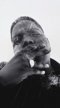 "071 The Notorious B.I.G-Biggie Smalls Американский Рэппер Музыка 14 ""x 25"" Афиша"