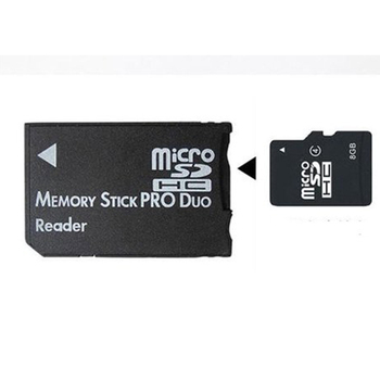 Мини Memory Stick Pro Duo Card Reader Новый микро-sd TF для MS Card адаптер для psp конвертер