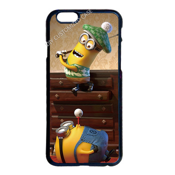 Миньон играть Гольф чехол для iPhone 4 4S 5 5S 5C 6 6 S 7 Plus Ipod 5 Samsung Galaxy S3 S4 S5 мини S6 S7 Edge Plus Примечание 2 3 4 5
