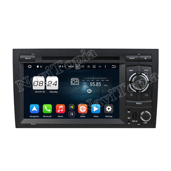 Navitopia Octa core 2 г Android 6.0/Quad Core 1 г Android 5.1 штатную DVD плеер для Audi A4 (2002 2003 2004 2005-2008) GPS