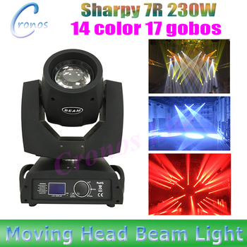 2 шт./лот professional moving head beam 230 Вт этапе шарпи 7r луч 7r DMX16/20ch луч 7R для dj ночной клуб