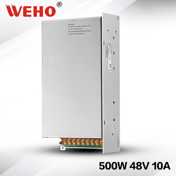 (S-500-48) Factory outlet AC to DC CCTV камеры питания 500 Вт 10A 48 В led выключатель питания питания